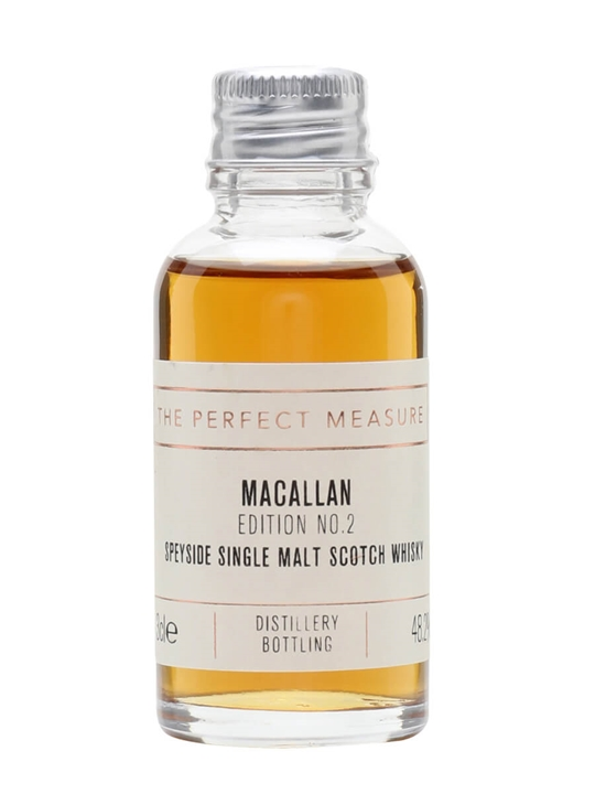 Macallan Edition No.2 Sample Speyside Single Malt Scotch Whisky