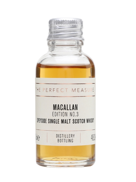 Macallan Edition No.3 Sample Speyside Single Malt Scotch Whisky