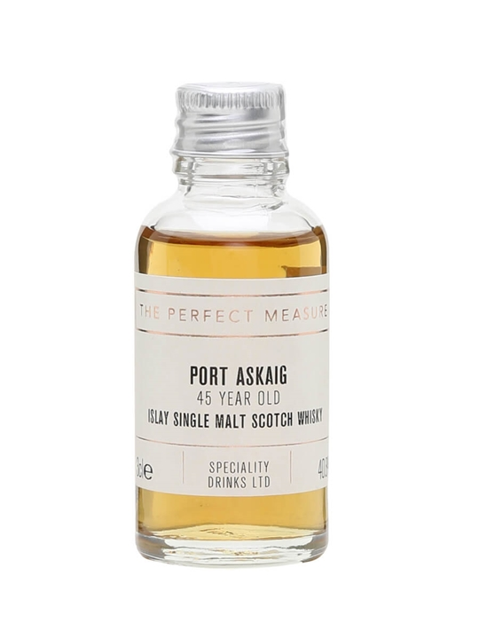 Port Askaig 45 Year Old Sample Islay Single Malt Scotch Whisky