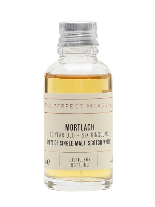 Mortlach 15 Year Old Sample / Game Of Thrones Six Kingdoms Speyside Whisky