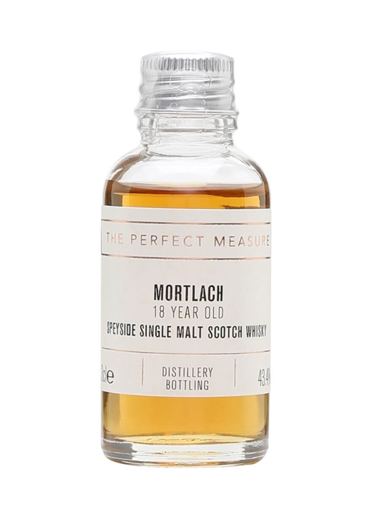 Mortlach 18 Year Old Sample Speyside Single Malt Scotch Whisky