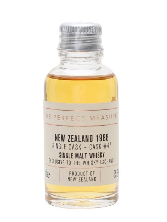 New Zealand 1988 Sample / 29 Year Old / Twe Exclusive New Whisky