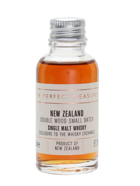 New Zealand 18 Year Old Double Wood Sample / Twe Exclusive New Whisky