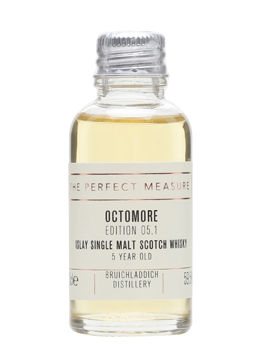 Octomore 5 Year Old Sample / Edition 05.1 / 169ppm Islay Whisky