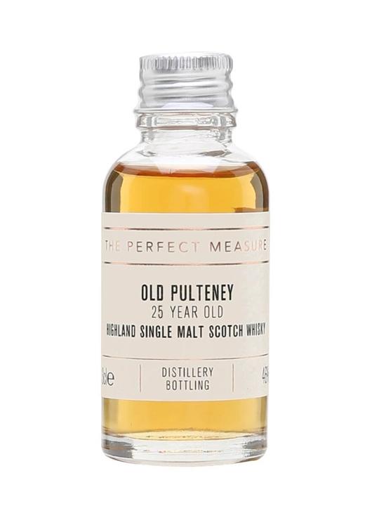 Old Pulteney 25 Year Old Sample Highland Single Malt Scotch Whisky