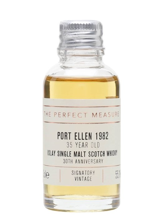 Port Ellen 1982 Sample / 35 Year Old / Signatory 30th Ann. Islay Whisky