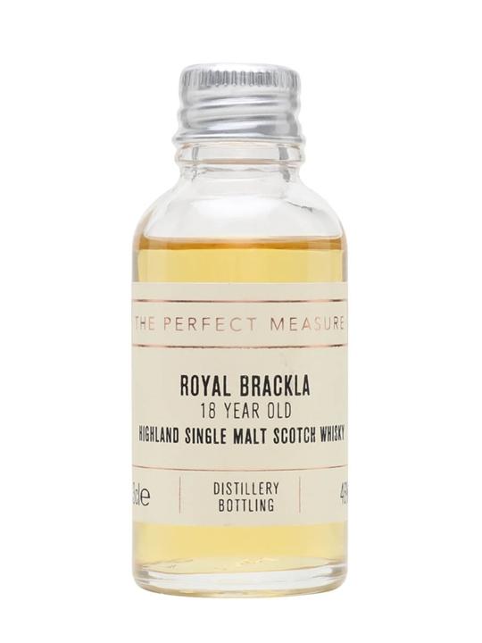 Royal Brackla 18 Year Old Sample / Palo Cortado Finish Highland Whisky