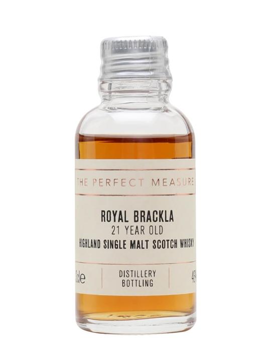 Royal Brackla 21 Year Old Sample / Sherry Finish Highland Whisky