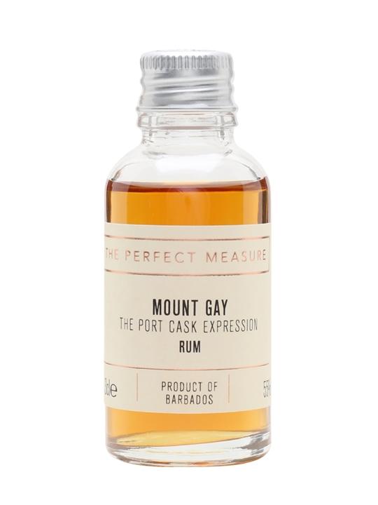 Mount Gay Port Cask Expression Sample Single Traditional Blended Rum