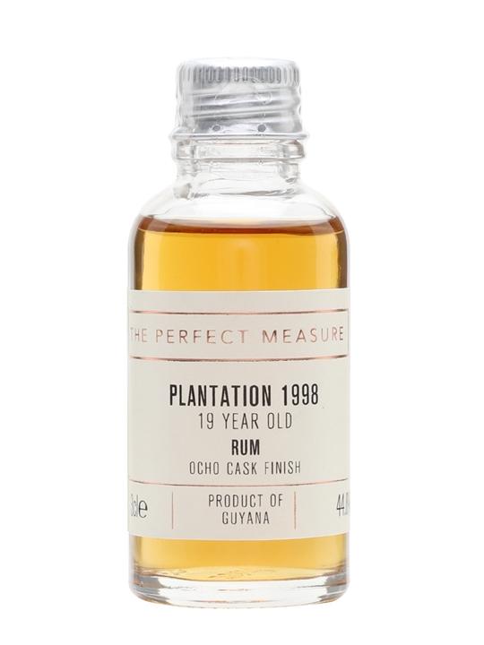 Plantation Guyana 1998 Rum Sample / Ocho Cask Finish