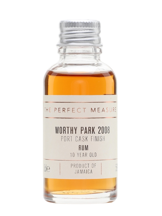 Worthy Park 2008 Sample / 10 Year Old / Port Cask Finish Rum