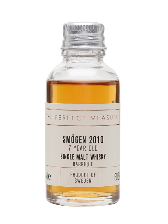 Smogen Barrique 2010 Sample / 7 Year Old Swedish Single Malt Whisky