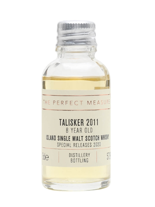 Talisker 2011 Sample / 8 Year Old / Rum Finish / Special Releases 2020 Island Whisky
