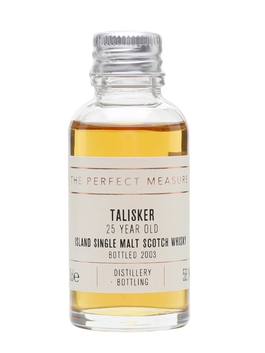Talisker 25 Year Old Sample / Bot.2007 Island Whisky