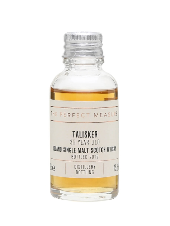 Talisker 30 Year Old Sample / Bot.2012 Island Whisky