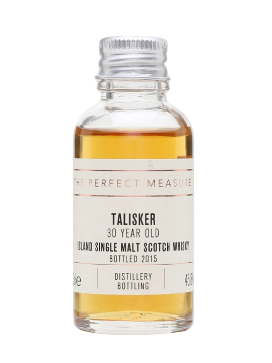 Talisker 30 Year Old Sample / 2015 Release Island Whisky