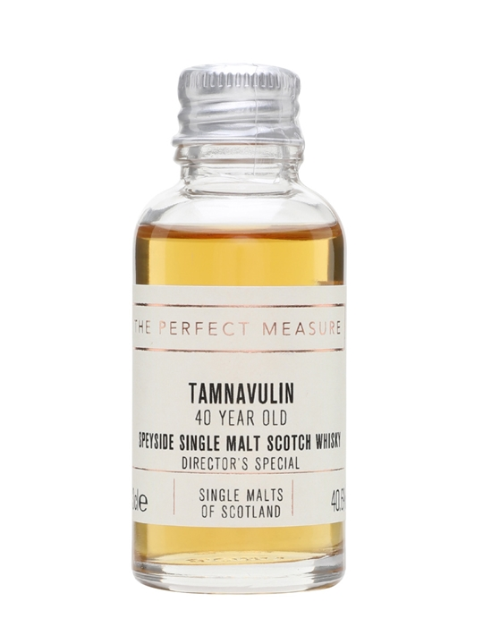 Tamnavulin 40 Year Old Sample / Director's Special Speyside Whisky