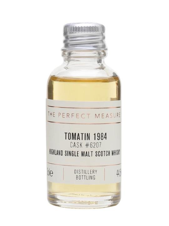 Tomatin 1984 Sample / 2014 Release Highland Single Malt Scotch Whisky