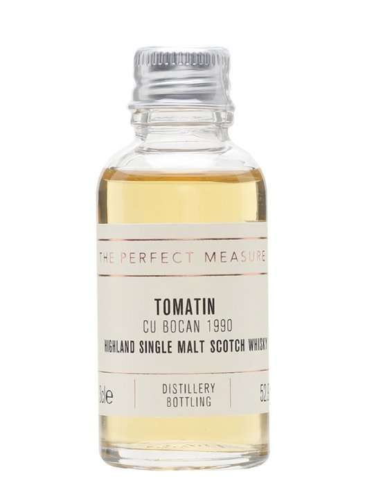 Tomatin Cu Bocan 1990 Sample Highland Single Malt Scotch Whisky