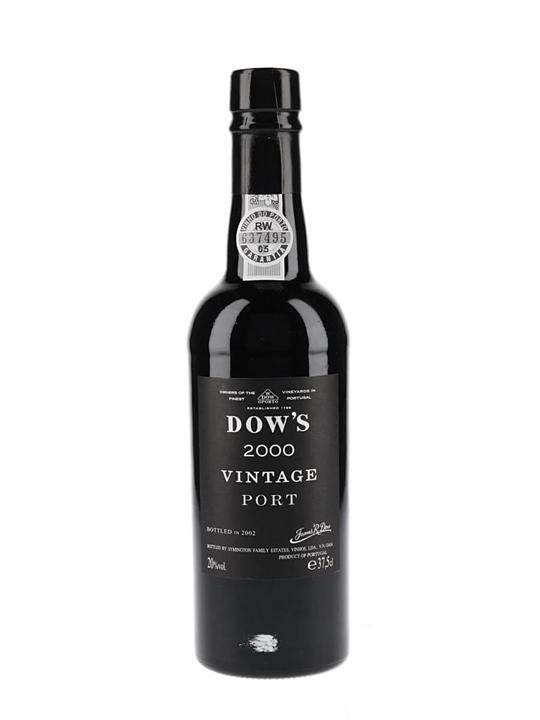 Dow's 2000 Vintage Port / Half Bottle