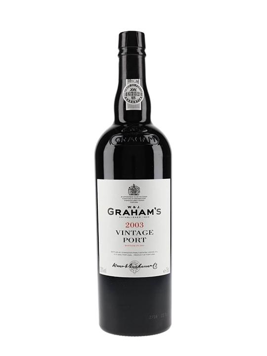 Graham's 2003 Vintage Port