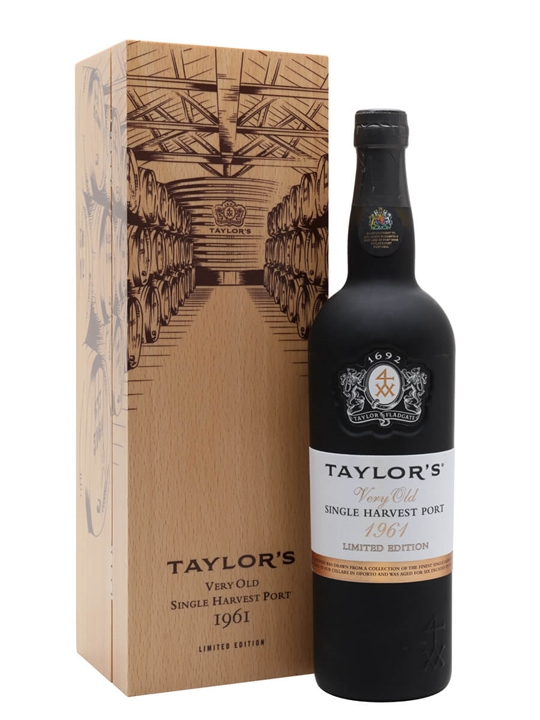 Taylor's 1961 Single Harvest Port