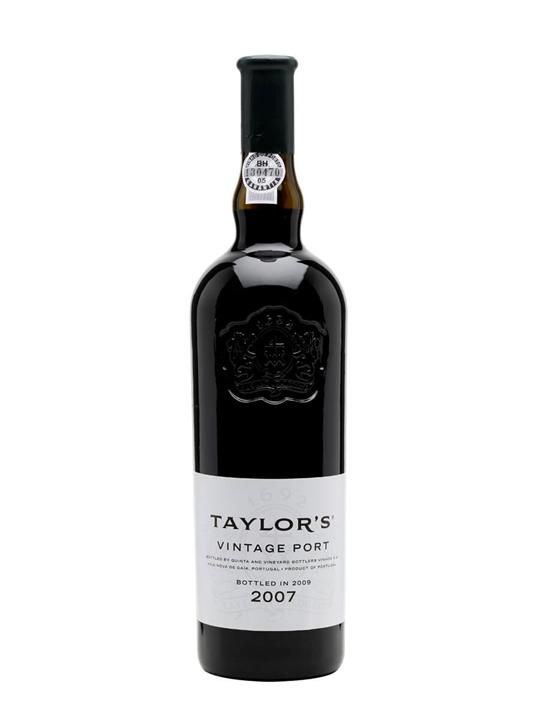 Taylor's 2007 Vintage Port