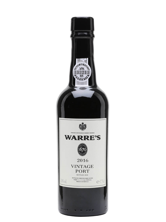 Warre's 2016 Vintage Port / Half Bottle
