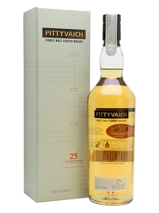 Pittyvaich 1989 / 25 Year Old / Special Releases 2015 Speyside Whisky
