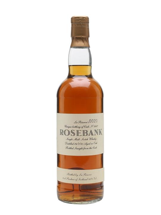 Rosebank 1980 / 12 Year Old / Cask #2467 Lowland Whisky