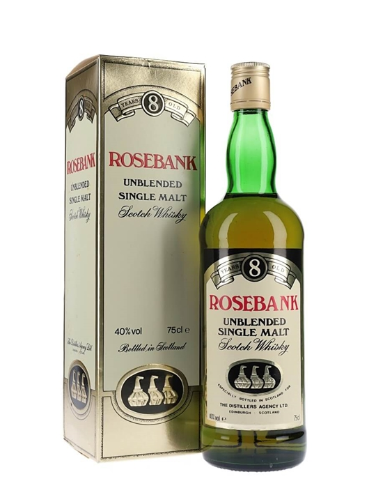 Rosebank 8 Year Old / Bot.1980s Lowland Single Malt Scotch Whisky