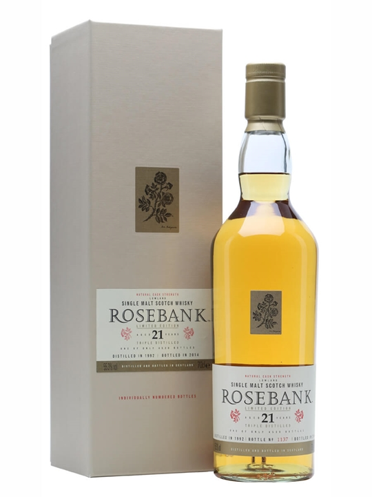 Rosebank 1992 / 21 Year Old / Special Releases 2014 Lowland Whisky