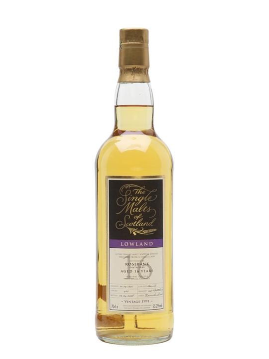 Rosebank 1991 / 16 Year Old / Cask #402 / Single Malts Of Scotland Lowland Whisky