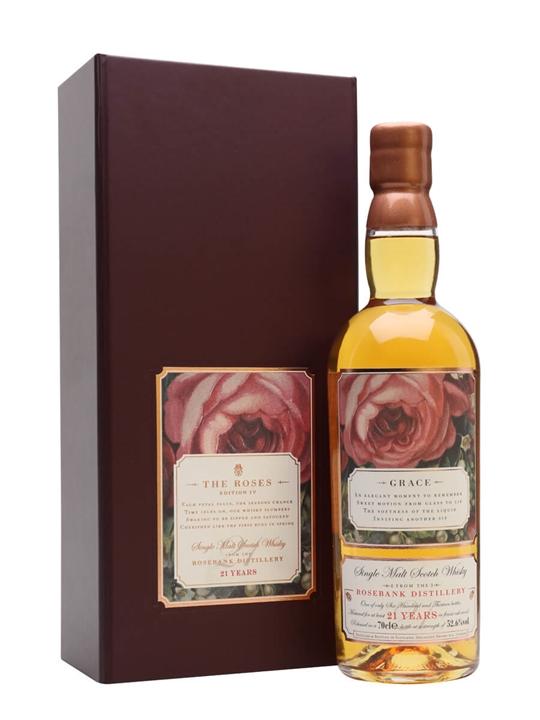 Rosebank 21 Year Old / Grace Lowland Single Malt Scotch Whisky