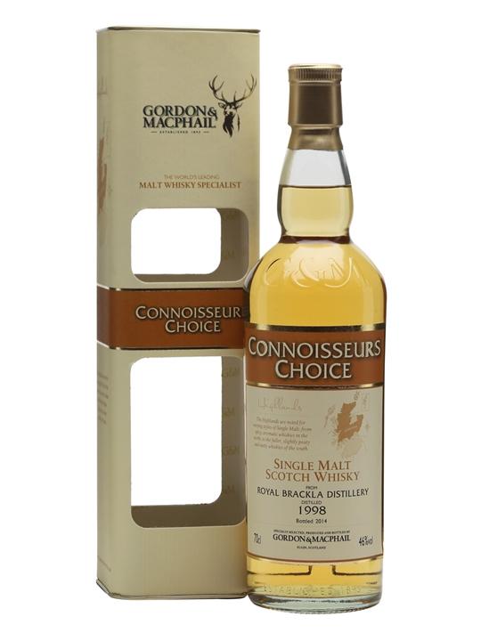 Royal Brackla 1998 / Connoisseurs Choice Highland Whisky