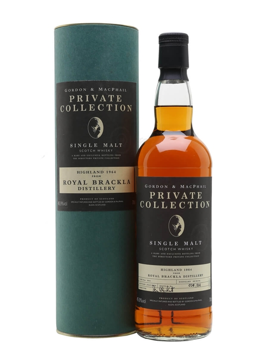 Royal Brackla 1964 / Private Collection / Gordon & Macphail Speyside Whisky