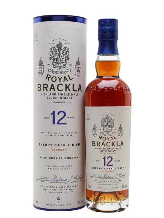 Royal Brackla 12 Year Old / Sherry Finish Highland Whisky