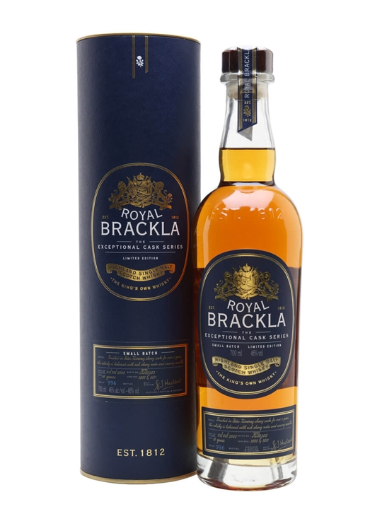 Royal Brackla 18 Year Old PX Cask Highland Single Malt Scotch Whisky