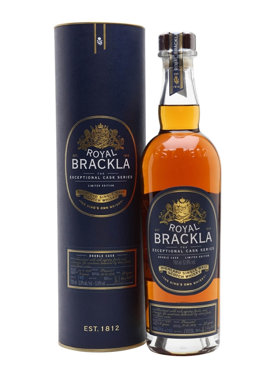 Royal Brackla 20 Year Old / Moscatel Double Cask Highland Whisky