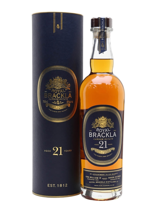Royal Brackla 21 Year Old Highland Single Malt Scotch Whisky