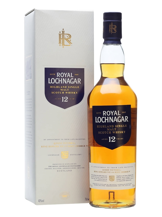 Royal Lochnagar 12 Year Old Highland Single Malt Scotch Whisky 70cl Highland Whisky