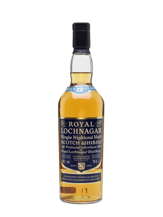Royal Lochnagar 12 Year Old / Bot.1980s Highland Whisky