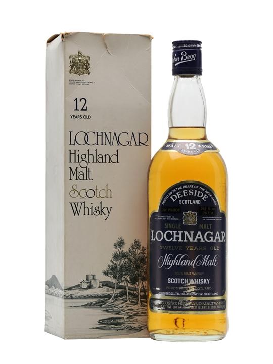 Royal Lochnagar 12 Year Old / Bot.1970s Highland Whisky