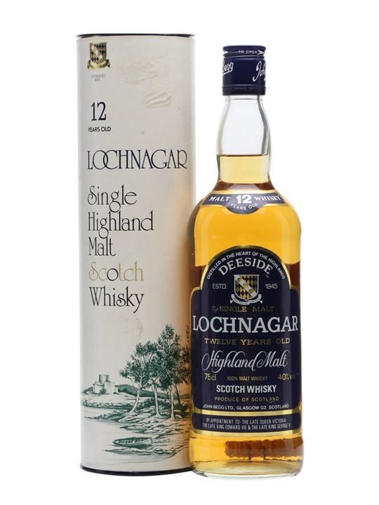 Lochnagar 12 Year Old / Bot.1980s Highland Single Malt Scotch Whisky