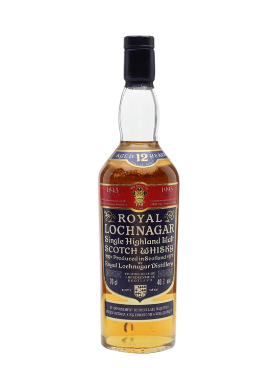 Royal Lochnagar 12 Year Old / 150th Anniversary Highland Whisky