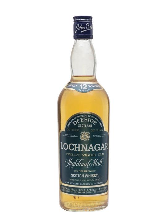 Lochnagar 12 Year Old / Bot.1970s Highland Single Malt Scotch Whisky