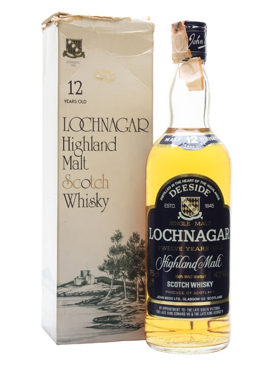 Royal Lochnagar 12 Year Old / Bot.1980s Highland Whisky