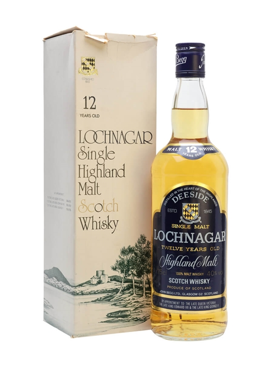 Lochnagar 12 Year Old / Bot.1980s Highland Single Malt Scotch Whisky