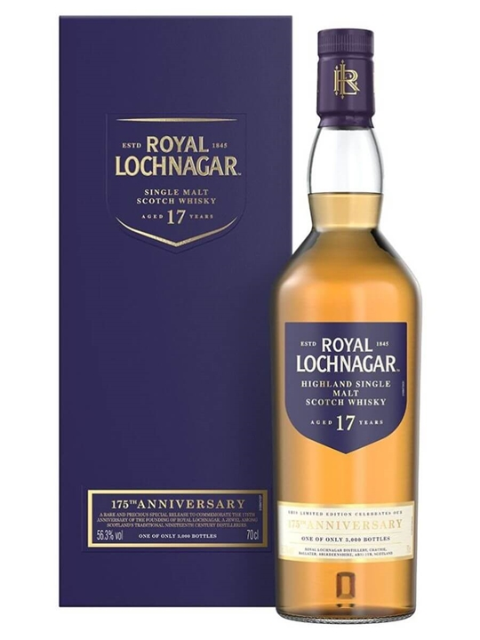 Royal Lochnagar 17 Year Old / 175th Anniversary Highland Whisky