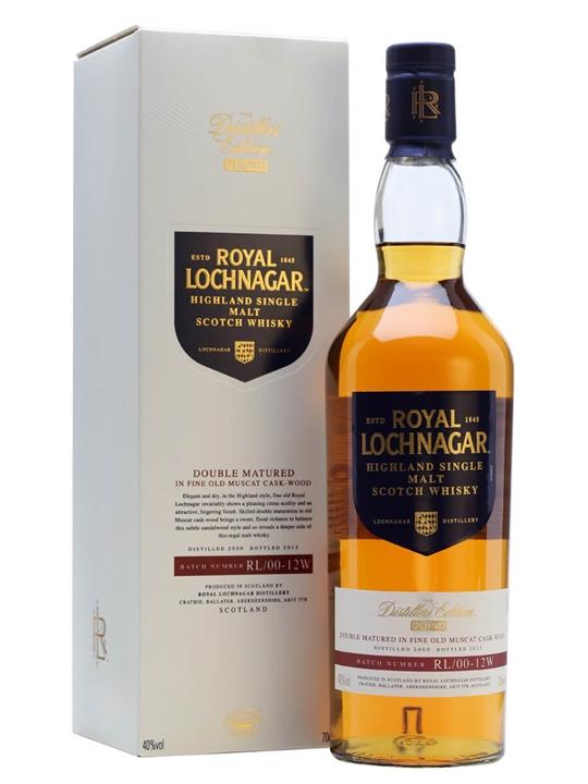 Royal Lochnagar 2000 / Distillers Edition Highland Whisky